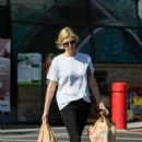 Charlize Theron – Shopping candids in Los Angeles - 454 x 636