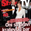 David Beckham, Victoria Beckham - Stars Tv Magazine Cover [Croatia] (29 April 2011)