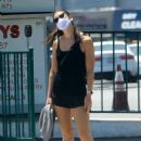 Mercedes Mason – Ges for a walk in West Hollywood