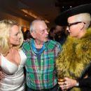 Pamela Anderson attend TASCHEN & David Bailey Celebrate