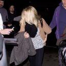 Kristen Bell - Departs Los Angeles International Airport, January 17 2010