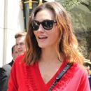 Phoebe Tonkin – Leaving her hotel in Paris - 454 x 579