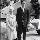 Charles A. Lindbergh and Anne Morrow Lindbergh - 213 x 271
