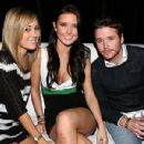 Kevin Connolly, Lauren Conrad and Audrina Patridge hung out at the Playboy Super Bowl 2008 Party