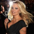 Pamela Anderson Arrives At The Commuter Premiere
