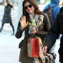 Lucy Hale grabbing some Starbucks in NYC (November 25)