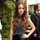 Lily Collins - Vogue CFDA Fashion Fund Dinner Hosted By Vogue's Lisa Love And Frederic Fekkai At Eveleigh On October 19, 2010 In West Hollywood, California