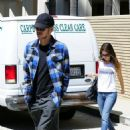 Rachel Bilson and Hayden Christensen headed over to the Los Feliz Towers apartments