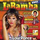 Lola Ponce - La Bamba Magazine Cover [United States] (11 May 2012)