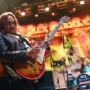 Recording artist Ace Frehley performs at Brooklyn Bowl Las Vegas at The LINQ Promenade on March 6, 2016 in Las Vegas, Nevada. - 454 x 331