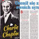Charles Chaplin - Retro Wspomnienia Magazine Pictorial [Poland] (January 2018) - 454 x 642