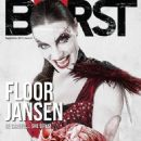 Floor Jansen - Burst Magazine Cover [Greece] (September 2013)