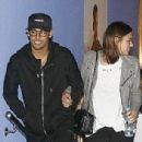 Barcelona superstar Neymar enjoys a night out at the cinema with girlfriend Bruna Marquezine as suspension rules him out of Atletico Madrid clash - 306 x 530