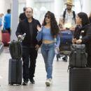 Camila Cabello – arrives at the Toronto airport - 454 x 440