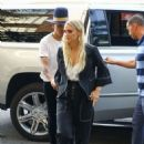 Ashlee Simpson – Arrives at The Bowery Hotel in New York City