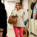 Lauren Conrad Looks for Her Luggage at LAX