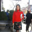 Sophia Bush – Arrives to the Bowery Hotel in NYC - 454 x 681