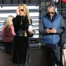 Rachel Zoe – Heads to lunch with her husband in Aspen