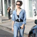 Emmy Rossum – Seen Out In West Hollywood - 454 x 681