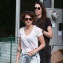 Kristen Stewart In Jeans Out In La