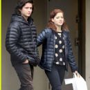Jane Levy and Thomas McDonell in Vancouver