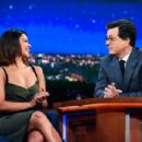 Gina Rodriguezon 'The Late Show with Stephen Colbert' in New York