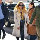 Avril Lavigne and Phillip Sarofim – Leaving SiriusXM Radio in New York City - 454 x 632