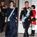 Crown Princess Mary Elizabeth of Denmark and Kronprins Frederik : New Year's Reception at Christiansborg Palace - 2015 (January 6, 2015) - 454 x 500