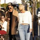 Amber Rose and Kat Von D have lunch at Urth Caffe in West Hollywood, California - February 10, 2014 - 454 x 728