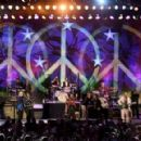 Ringo Starr performs during the Ringo Starr and his All Starr Band concert at The Greek Theatre on September 01, 2019 in Los Angeles, California - 454 x 291