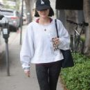 Lucy Hale heading to the gym in Los Angeles - 454 x 682
