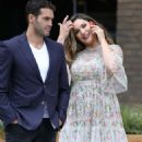 Kelly Brook and Jeremy Parisi out in London - 454 x 561