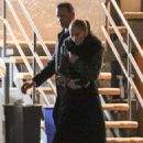 Jennifer Lopez and Alex Rodriguez – Leaving Madeo restaurant in Beverly Hills