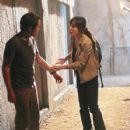 Ken Leung as Miles and Yunjim Kim as Sun on Lost (Ep.6x06 - Sundown) - 427 x 640