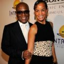 L.A. Reid and Erica Holton