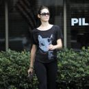 Emmy Rossum - Leaving The Westside Academy Of Dance In Santa Monica - September 7, 2010