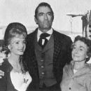 Debbie Reynolds, Gregory Peck, and Thelma Ritter