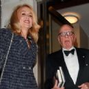 Jerry Hall and Rupert Murdoch - 454 x 333