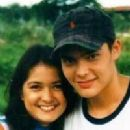 Dingdong Dantes and Kim de los Santos