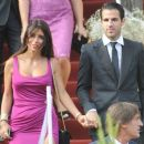 Cesc Fabregas and Daniella Seeman