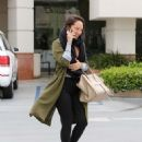 Cheryl Burke – Leaves Coffee Bean in LA - 454 x 591