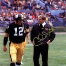 Terry Bradshaw & Coach Chuck Noll - 390 x 480
