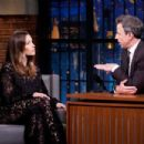 Jessica Biel – On 'Late Night with Seth Meyers' in New York City