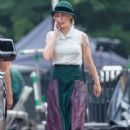 Emily Blunt – On the set of 'Jungle Cruise' in Atlanta