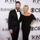Hugh Jackman and Deborra-Lee Furness At the 68th Annual Tony Awards (2014) - 395 x 594