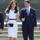 Kate Middleton Visits the National Maritime Museum (June 10, 2014)