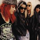 Jennifer Finch with L7