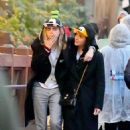 Cara Delevingne and Ashley Benson at Disneyland