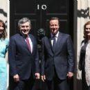 David Cameron and Samantha Cameron - 454 x 303