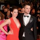 Kristen Stewart & Tom Sturridge at Rob's Cosmopolis Premiere - 454 x 330
